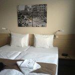 La camera dell'hotel