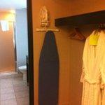 open closet & robes