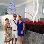 llego la Navidad a la recepción del Hotel Krystal 2012 2013