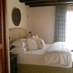 La segunda habitación de la Suite, en otro nivel y con su solarium privado, bu