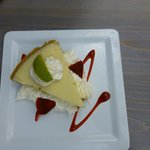 Key Lime Pie - leckeres Dessert