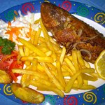 Fry Fish @Jamaican Colors