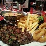 My amazing steak.