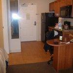 Kitchenette and breakfast nook, Candlewood Suites, Santa Maria CA
