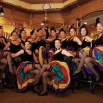 Rendezvour Can Can Dancers at Gold Pan Saloon