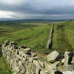 Hadrian's Wall near Cawfields, England