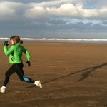proper sand runner on Saunton's great beach!