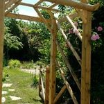 Rose Arch to Guests' Garden