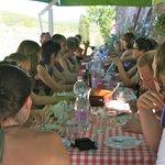 maaltijd na de workshop