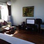 very spacious junior deluxe beachfront villa (room 318)