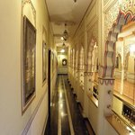 Balcony hall way to the rooms