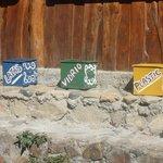 Recycling auf dem Gelaende