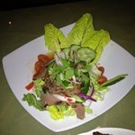 delicious spicy beef salad...