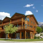 The exterior of the Marble Canyon development in Fairmont Hot Springs, BC