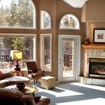 A sun filled livingroom.