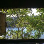 View from the bedroom of Bambu Tree House