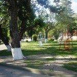 Parque y juegos para niños