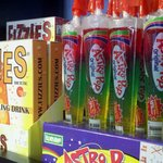 Astro Pops and Fizzies--it doesn't get more retro than this at Georgie Lou's.