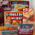 Retro toys and games at Georgie Lou's.