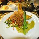 My grouper dinner