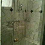 shower in bathroom 1 in suite