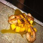 Mango Shrimp appertizer