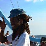 A wonderful man with a heart of Gold- John Williams on the Catamaran Sunset Cr