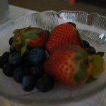 Breakfast delivered to your room - fruit