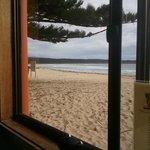Tathra Beach Cafe view