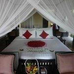 Rm 603 bedroom welcome
