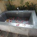 Outdoor bathroom of Rm 603