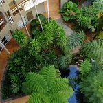 Exterior atrium, Holiday Inn, Cairns