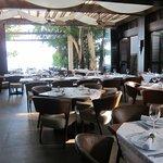 lovely airy restaurant
