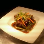 braised beef rib and black bean