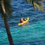 Kayaking tour starts!