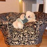 Die gute Seele des Hauses, der liebe Teddybär