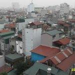 Hanoi skyline. Whatever happened to the building regulations ?