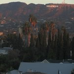 l'hollywood sign visto dalla camera