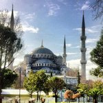 Only two minutes to the Blue Mosque