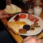 Full Irish breakfast al Fernroyd