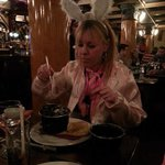 me enjoyin my mussels at Benedicts