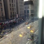 View from our room - 8th Ave