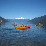 Kayaks la gran atracción todo el año