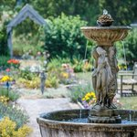 The fountain in the Gardens