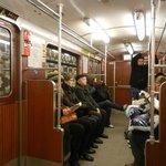 genel bir resim metro içi