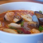 Spicy Wine Seafood Noodle Soup