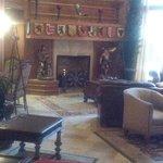 Zermatt Lobby Fireplace
