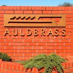 Entry Sign with Auldbrass Logo