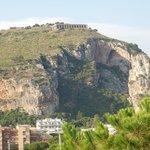 Гора Святого Ангела и Храм Юпитера.