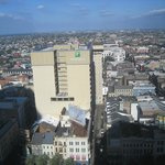 View of French Quarter looking from West to East on Canal St.
